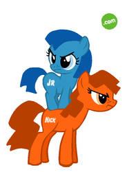 Nick Jr Ponies! by CharitySeashell