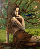 spring dryad 02 by cannibol