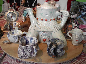 mad teaparty set by cannibol