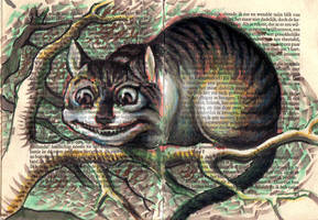 cheshire cat tarot by cannibol