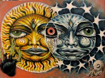solar eclipse by cannibol