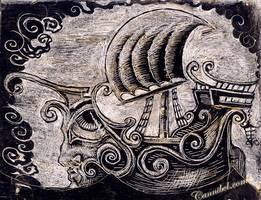 ship scratch by cannibol