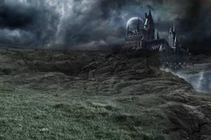 Hogwarts. by daChelissius