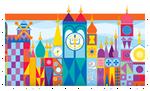 Disney's It's a Small World Stamp by BrainyxBat