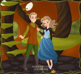 Childhood: Eve and Kane (Pixie Scene) by BrainyxBat