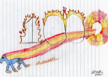 1000 Pageviews Dash by sdyoshi123