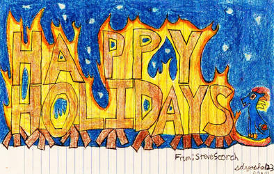 Happy Holidays from SteveScorch by sdyoshi123