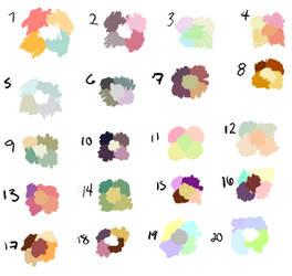 Free Palettes by Rusori