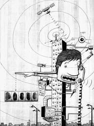 Modern Life- Surveillance by Si2