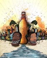 Brahma Beer by Si2