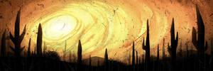 Desert Scene by Si2