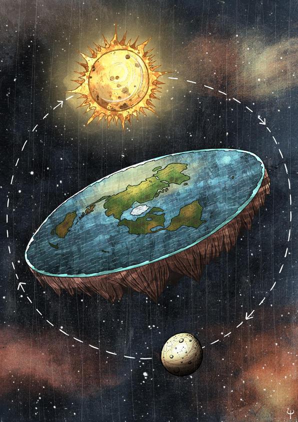 Flat Earth Society by Si2