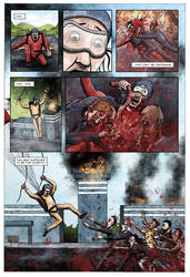 Dead Roots comic by Si2