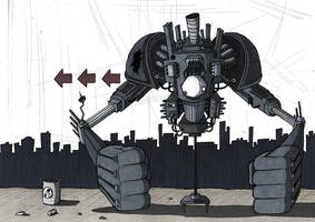 Lost Robot by Si2