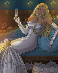 Emma Frost by JericaWinters