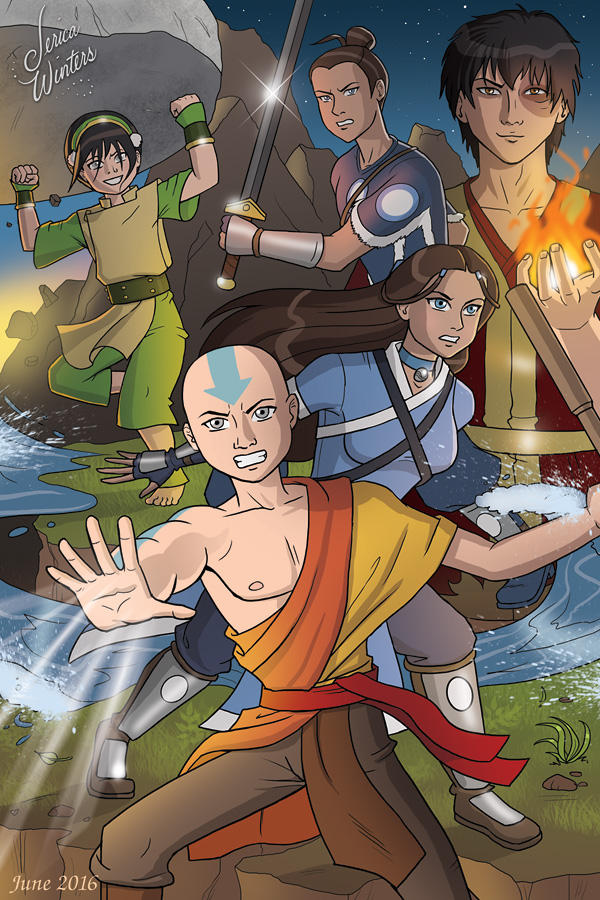 Avatar - The Last Airbender by JericaWinters