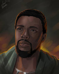 T'Challa by JericaWinters