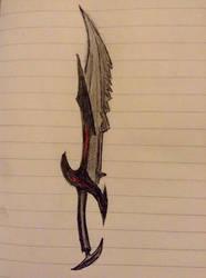 Daedric Sword  by EpicStone