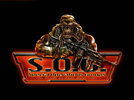 SOG skull guy on black by Red-Rogers