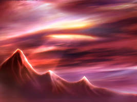Red Reign Landscape by Red-Rogers