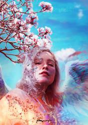 A beautiful  angel by ANWARIKA-GFX