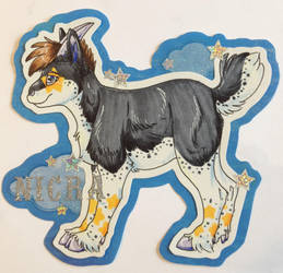 Nicra Badge by Akydactyl