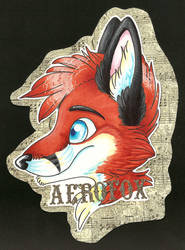 Aerofox Badge by Akydactyl