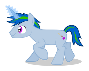 Xenon Terapon is a pony now by MisterAibo