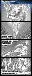Warframe Kick by longlei