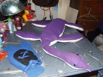 Plesiosaur Plush - Updated by CarrahJM