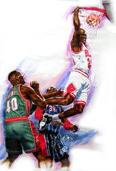 Basketball2 by zhuoyu