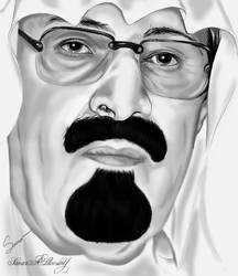King Abdullah bin Abdulaziz by samart4me