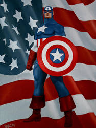 Captain America by robpitts1969
