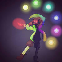 Glitchtale Chara by SuhaiCo