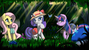 Mission in Everfree Forest by FairySearch