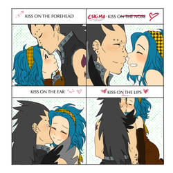 Cute Kiss meme: Gazille x Levy by SweetJanie