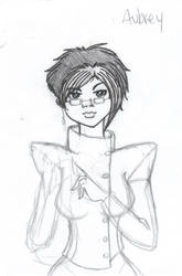 Aubrey Coombes Sketch by nikki-nekochan