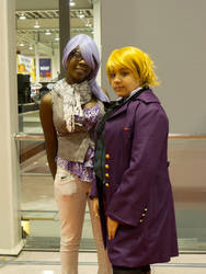 Hipster Hannah and Alois by nikki-nekochan