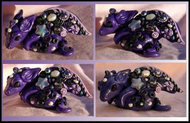 Purple Dragon For Chris by balletvamp
