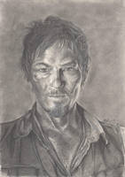 Daryl Dixon by fionabird