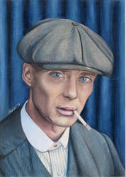 Tommy Shelby by fionabird