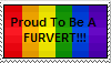 Furry Pervert Stamp by DragonHeartLuver