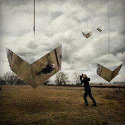 Reflective Cubes by alltelleringet