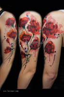 Poppy Tattoo - Jay Freestyle by JayFreestyle