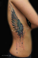 Wing tattoo - Jay Freestyle by JayFreestyle