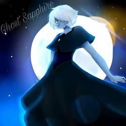 Ghost Sapphire by EkarilLazuli