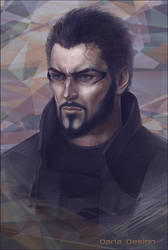 Adam Jensen by DariaDesign
