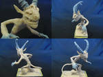 Saytr Sculpture by Kazulgfox