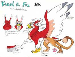 Kazul G. Fox ref Feral 2013 by Kazulgfox