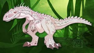 Indominus Rex fanart by Kazulgfox